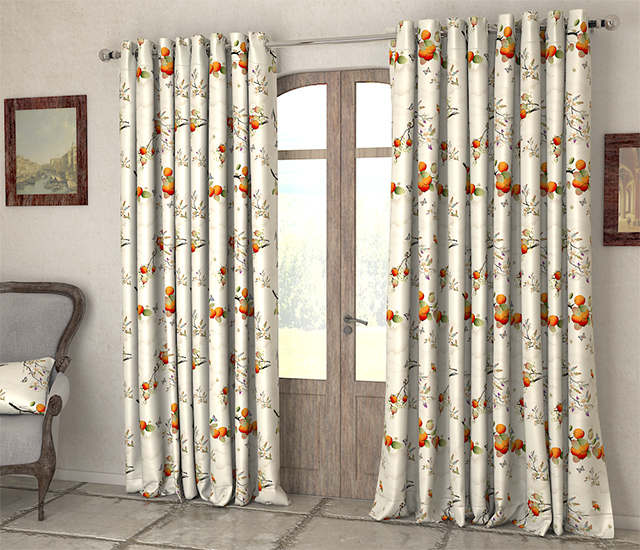 Cotton Curtain Fabric Online India | Gopelling.net